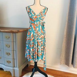 Diane vonFurstenberg Lora Midi Silk Wrap Dress